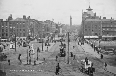 National Library of Ireland Lawrence Collection - O'Connell Bridge