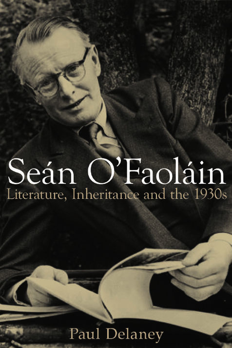 Sean O Faolain Literature Inheritance And The 1930s