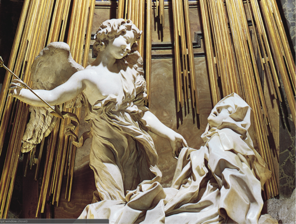"Figure 1. Bernini's ""The Ecstasy of Saint Teresa"""