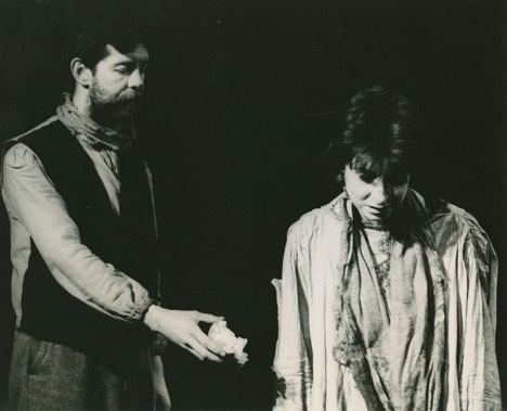 Druid production of Tom Murphy's Famine in 1984. T2/735, Druid Theatre Company Archive, James Hardiman Library, NUI Galway.